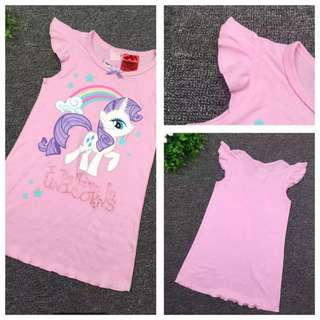 PO My Little Pony Dress sleepwear brand new size 100-120cm (3-6yrs old )