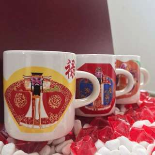 Fu Lu Shou Miniature Cup Set