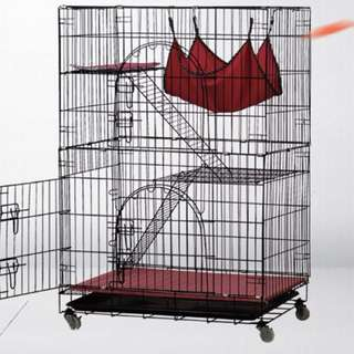 Pets cage with/without wheels