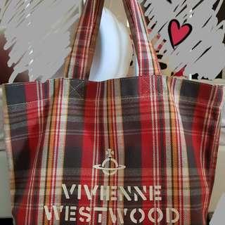 Authentic Vivienne Westwood canvas bag