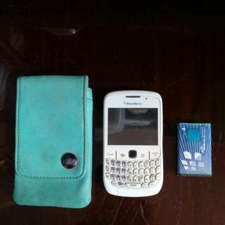 Original BlackBerry 8520 (Free Halo Case)