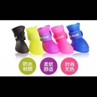 🚚 寵物防水雨鞋