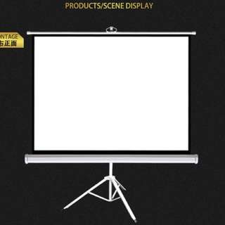 "BN Big Projector Screen up to 100"" with Tripod"