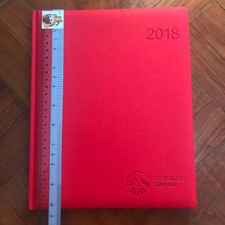 AIA 2018 Red Planner