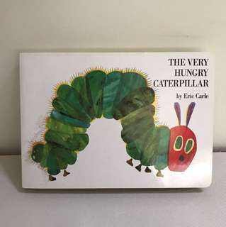 The Very Hungry Caterpillar -Eric Carle