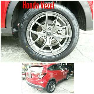 Tyre 225/50 R17 Membat on Honda Vezel 🐓 Super Offer 🙋♂️
