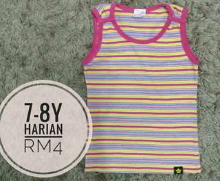 7-8y girl Sleeveless Top