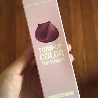 APRIL SKIN Turn Up Colour Treatment #Purple