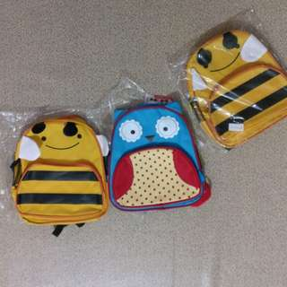 Owl/ Bumble Bee Kids Bag