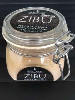 Zibu Dubula Bath salt scrub