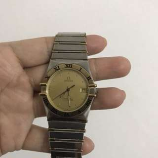 Omega Constellation Two Toned Mens Size