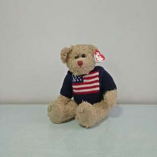 ty Soft Teady Bear height 26cm mint condition