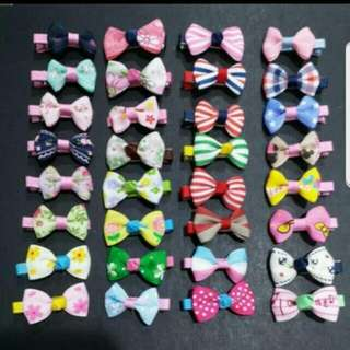 ($1.4/pair)(91designs To Choose) Children Hair Clips