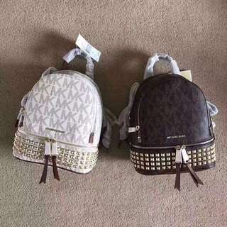 MK Backpack in Small or Medium