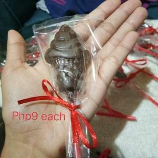 Choco on Sticks / Chocolate Lollipop - Ice Cream Shape
