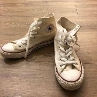 🚚 Converse高筒帆布鞋