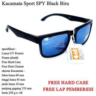Kacamata Pantai Sunglasses SPY Black biru