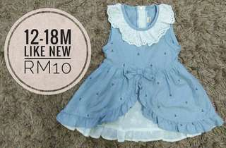 12-18m dress