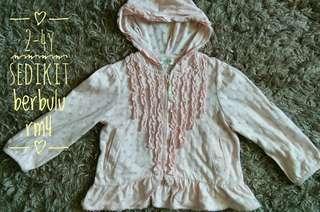 2-4y hoodie top