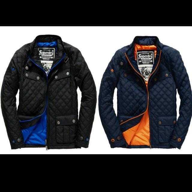 官網售價10000 Superdry 極度乾燥 全新正品 Apex Quilt Jacket 絎縫夾克