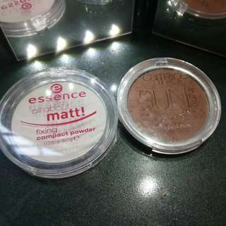 Catrice fix powder and bronzer