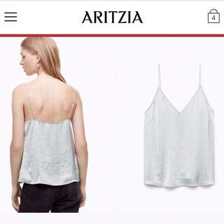 Aritzia Wilfred Silk Camisole Brand New Medium