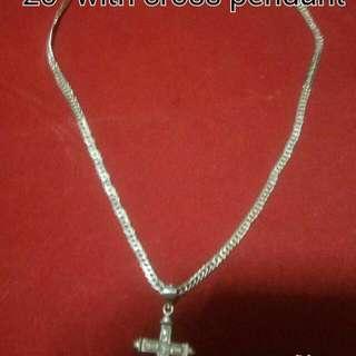 Men's necklace double