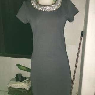 Dress abu monyet. Selutut. Mini dress