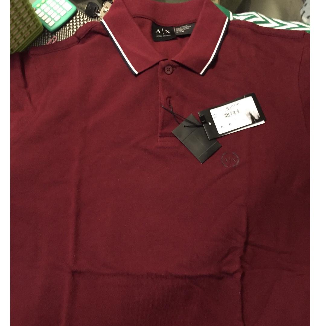 100% Authentic (original) Armani Exchange Polo Shirt