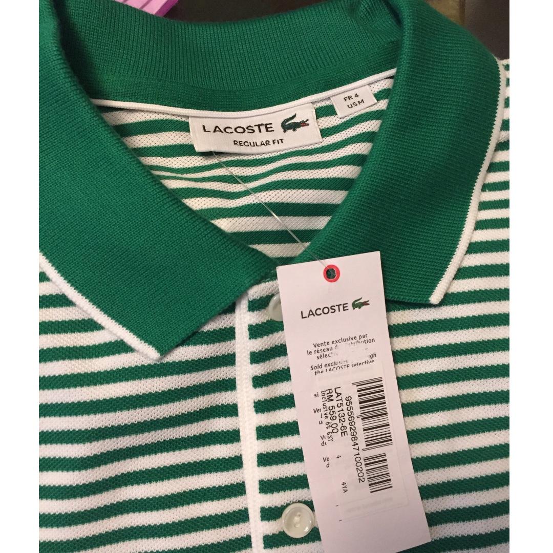 100% Authentic (Original) Lacoste Polo Shirt