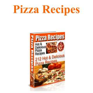 Ebook PIZZA Recipe 212 HOT and Delicious Pizza Recipe