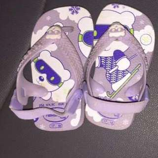 Havaianas 17-18 for babies