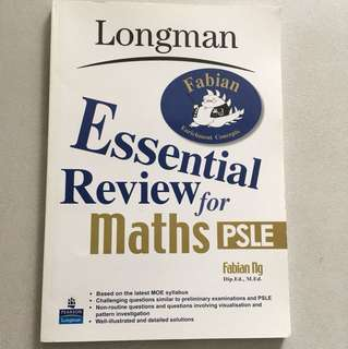 Longman essential review for maths PSLE