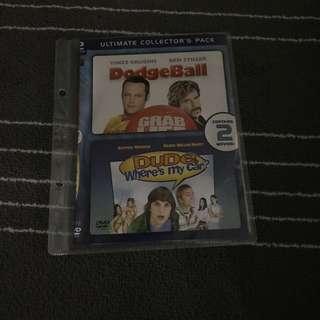 Dodgeball / Dude Where's My Car Movie DVD