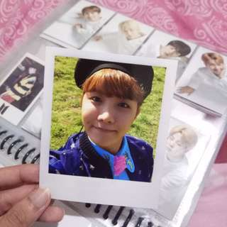 BTS Young Forever JHope Polariod
