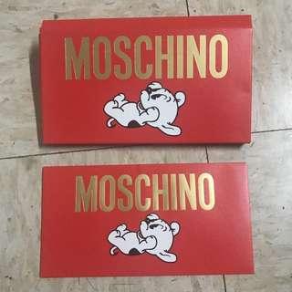 Moschino 狗年利是封red pocket