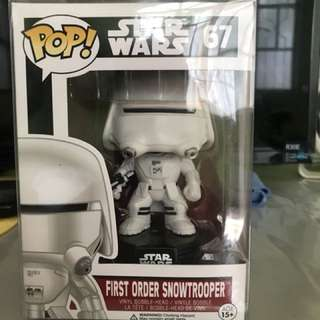 Funko Pop! Vinyl Star Wars First Order Snowtrooper