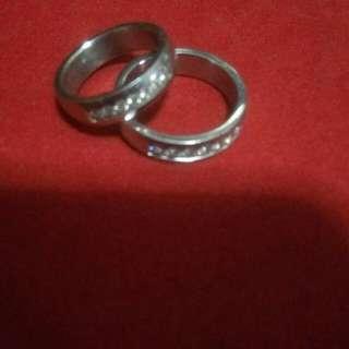 Couple rings  pair