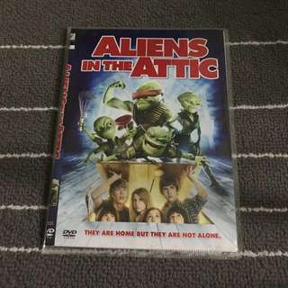 Aliens in the Attic Movie DVD
