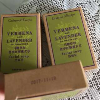 Evelyn n Crabtree facial soap