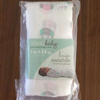 Aden + Anais Baby Swaddle (Owl)