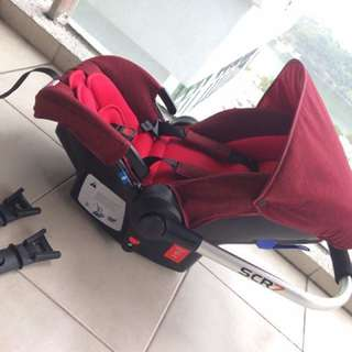 CARSEAT  SCR 7 ( FREE POSTAGE )