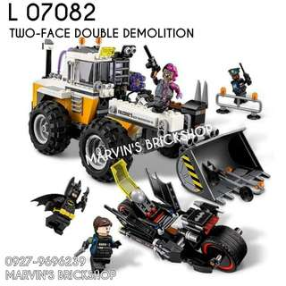 For Sale Two-Face Demolision Building Blocks Toy