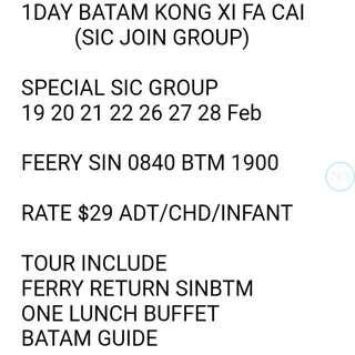 BATAM KONG XI FA CAI PROMO