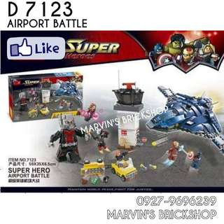 For Sale Avengers Airport Battle Building Blocks Toy