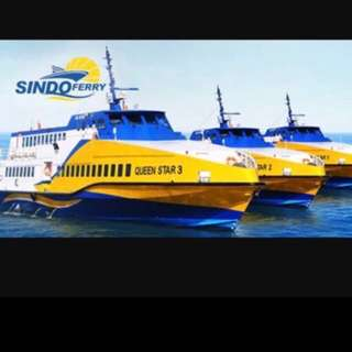 Batam ferry ticket sindo ferry (taxes included)