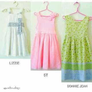 Lizzie Dress/5T Dress/Bonnie Jean Girls Dresses