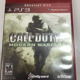 PS3 Games call of duty 4