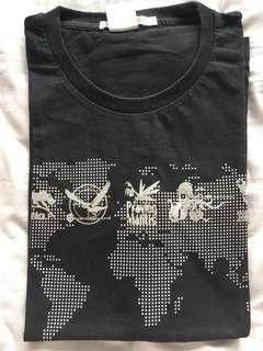 Metal gear 25th anniversary silver print tshirt