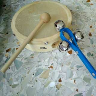 Drum and ringer set